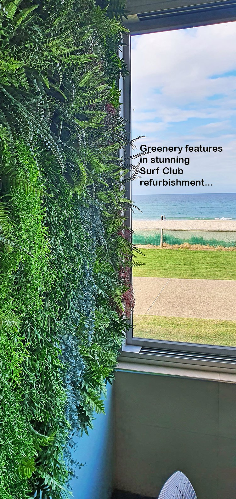 Greenery features in great Surf Club renovation...