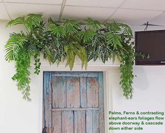 Greenery lifts Club restaurant...