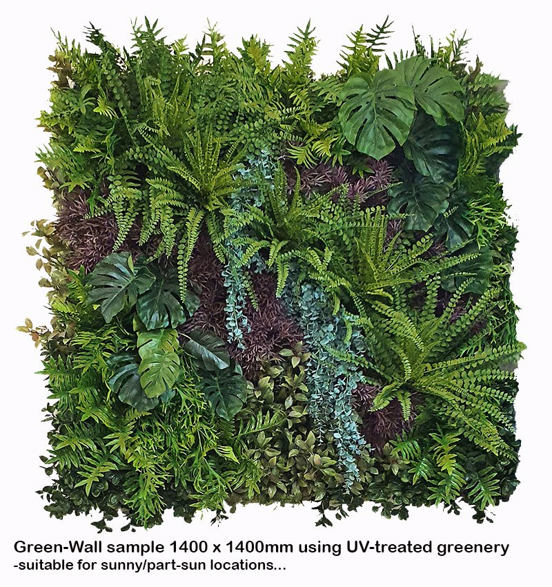 Articial Plants - Living Walls- deluxe UV 150 x 120cm