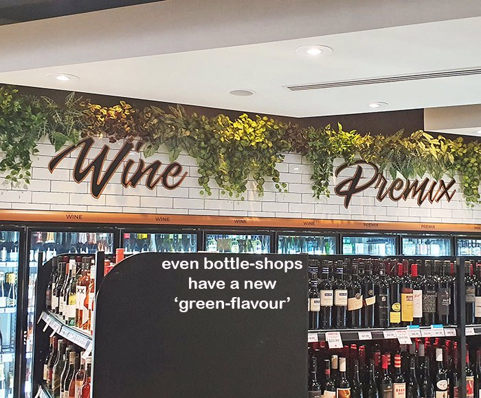 Bottle-Shops have a new 'green-flavour'!