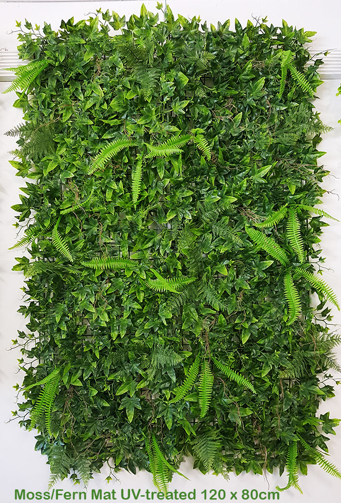 Articial Plants - Wall-Panels Ivy/Fern UV panel x4 [approx 1m2]