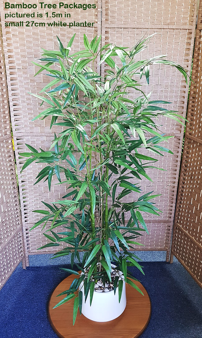 Articial Plants - Packages- Bamboo 1.9m in planter