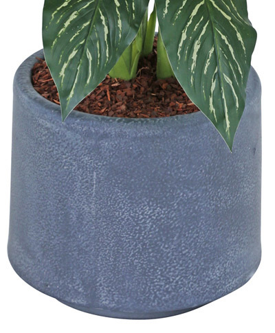 Articial Plants - Planters- decor-lite round- sml