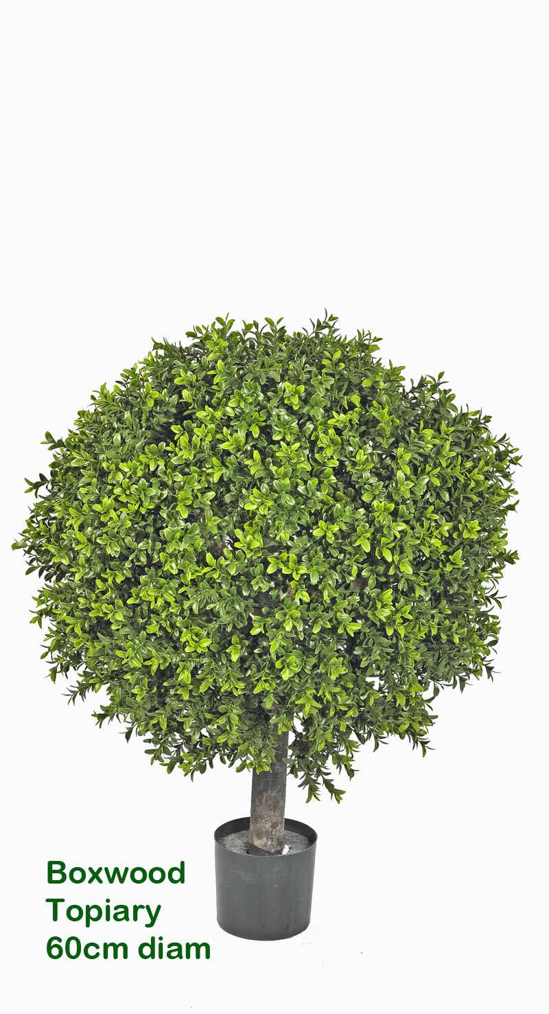 Articial Plants - Boxwood Topiary Trees 55cm