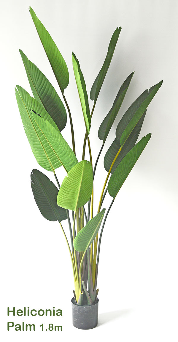 Articial Plants - Heliconia Palms- 1.8m