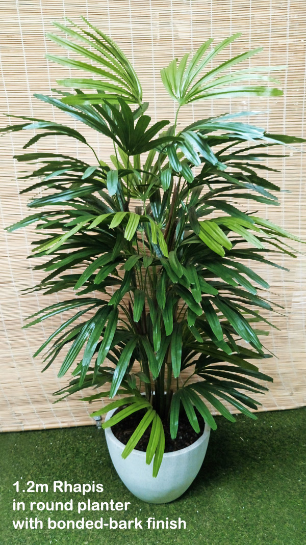 Articial Plants - Rhapis Palms 1.2m