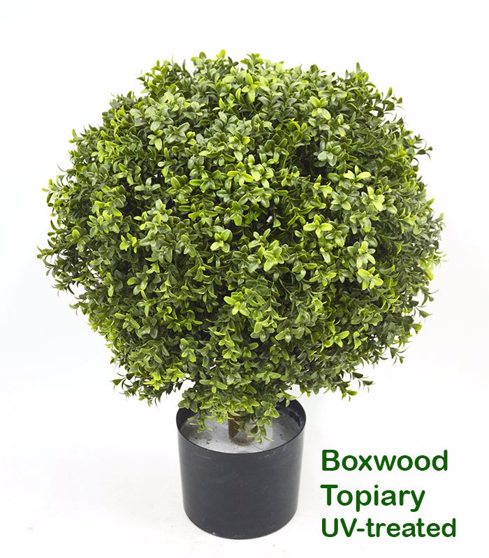 Articial Plants - Boxwood Topiary 55cm UV-treated