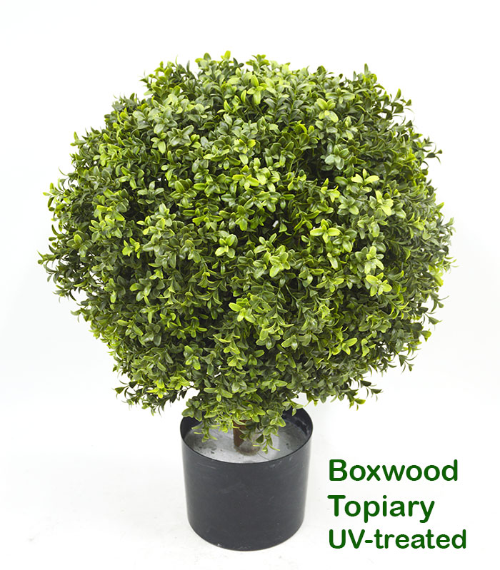 Articial Plants - Boxwood Topiary 30cm UV-treated