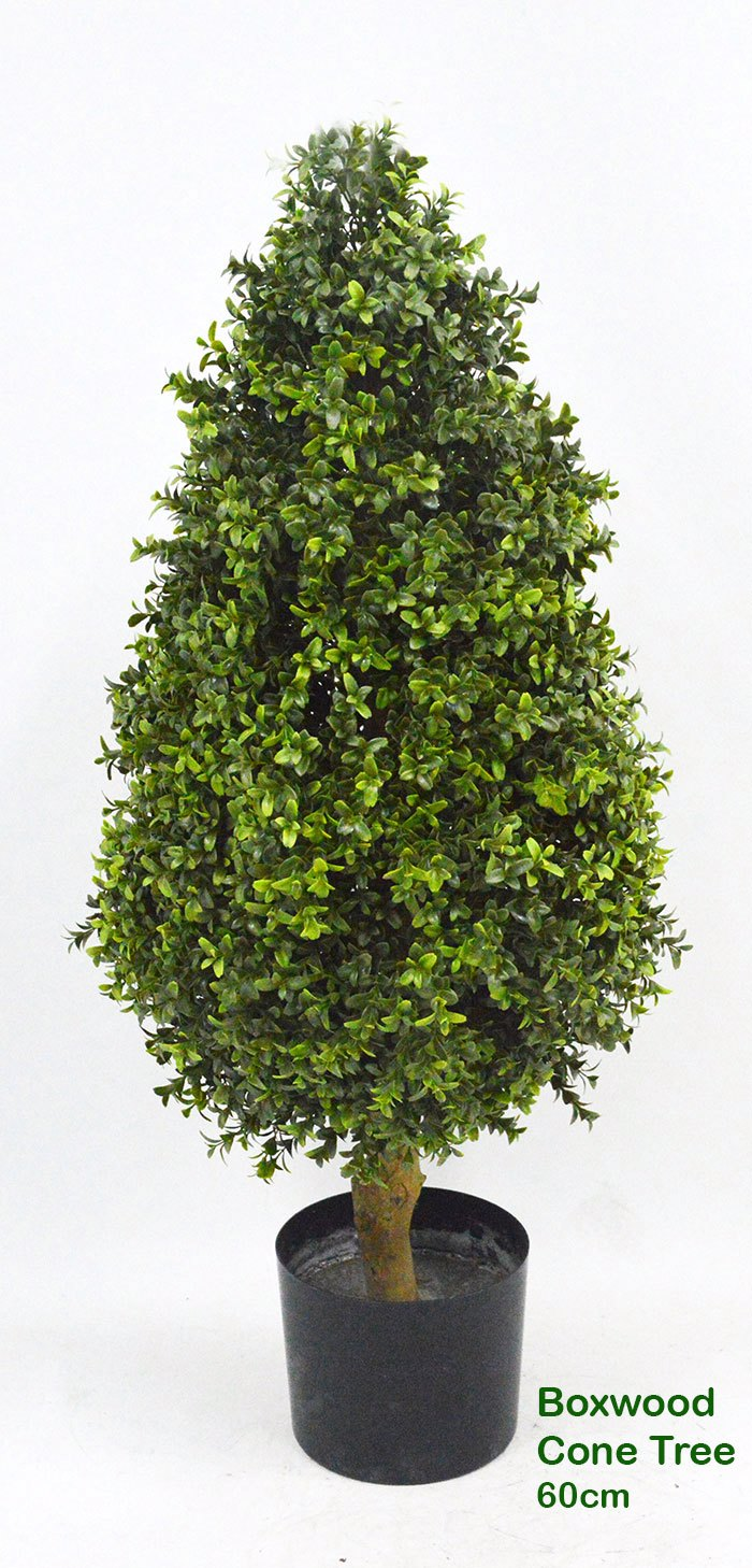 Articial Plants - Boxwood Cone 90cm UV-treated
