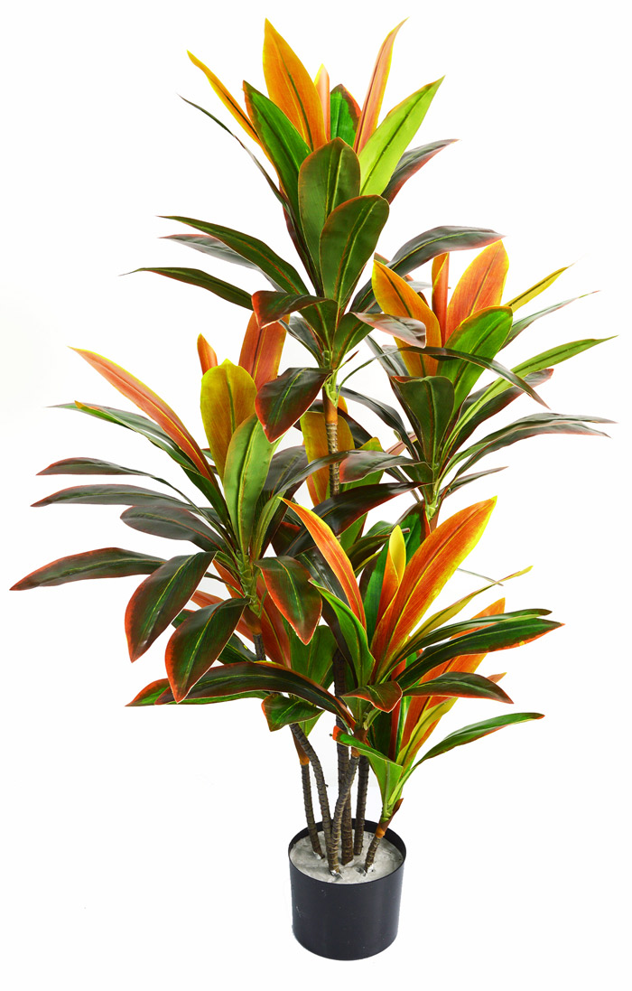 "Articial Plants - Cordyline ""sunset"" 1.1m"
