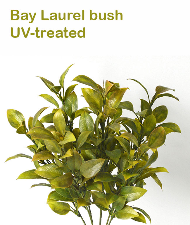 Articial Plants - Bay Laurel Bush- UV-treated