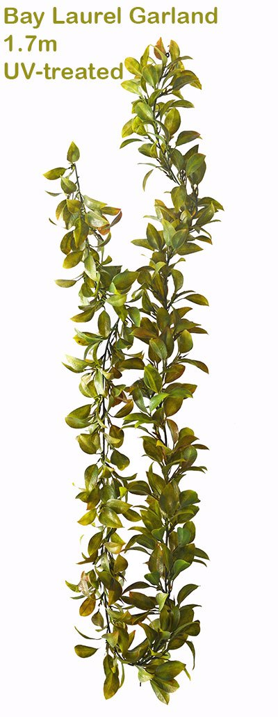 Articial Plants - Bay Laurel Garland- UV-treated