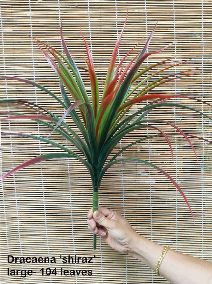 Articial Plants - Dracaena- 'shiraz' Plant 84 leaves