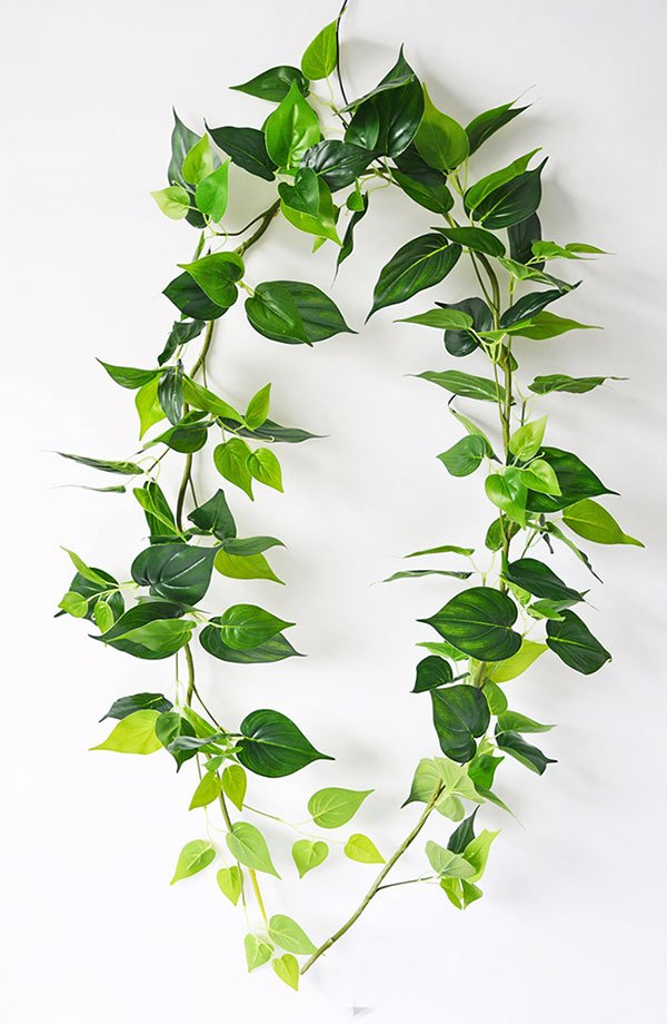 Articial Plants - Trailing Vine- Philo Garland [philodendron]
