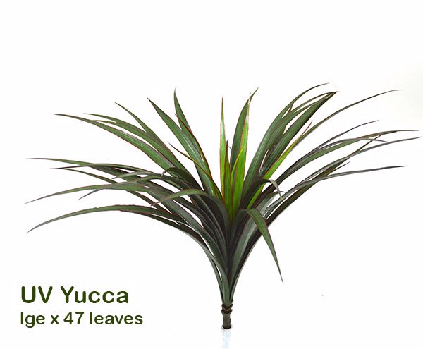 Articial Plants - Yuccas- Red Edge...lge
