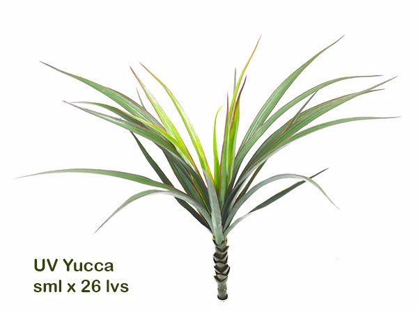 Articial Plants - Yuccas- Red Edge...small