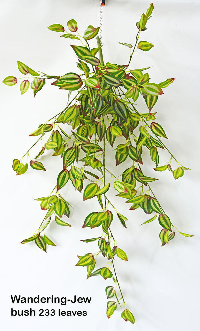 Articial Plants - Trailing Bush- lge Wandering Jew