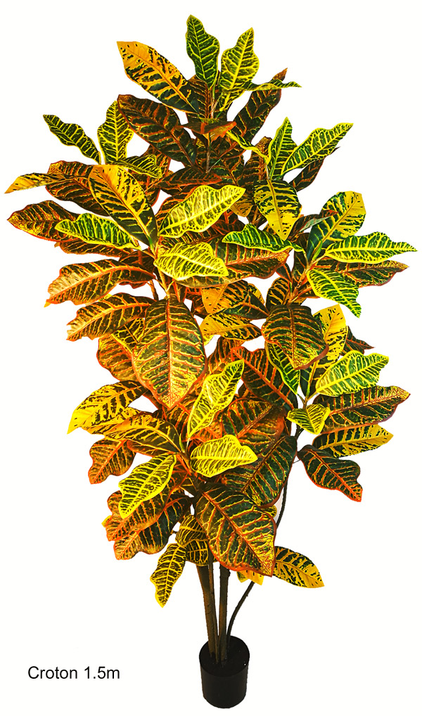 Articial Plants - Crotons 1.5m