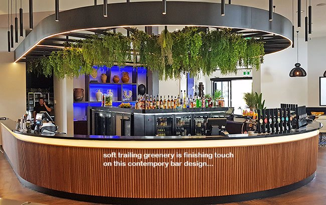 Contempo Bar in new Tavern gets 'finishing green-touch'...