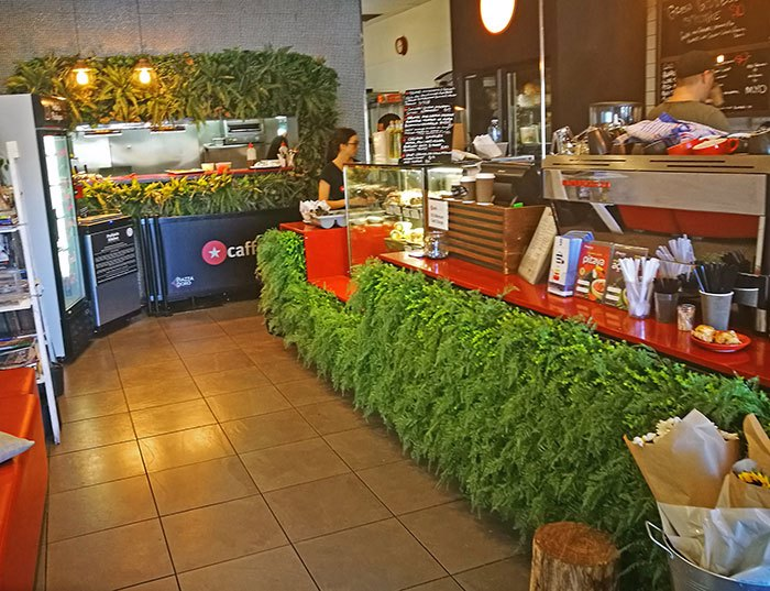 Cafe goes Green