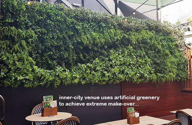 Extreme make-over of inner-city heritage Venue requires 'green-edges'!