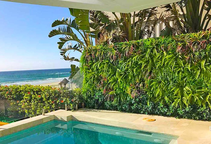 Green-Wall sets off ocean-front luxury life...