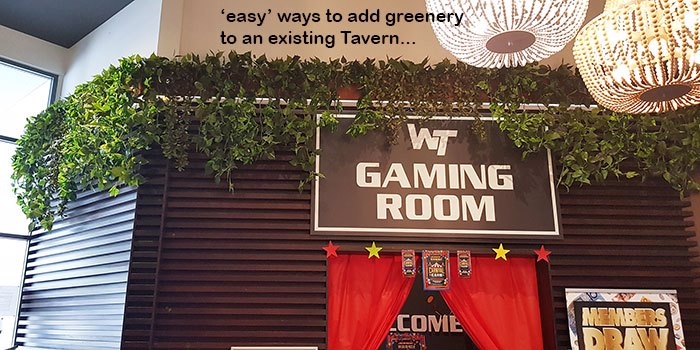 'EASY' ways to add Greenery to an existing Venue...